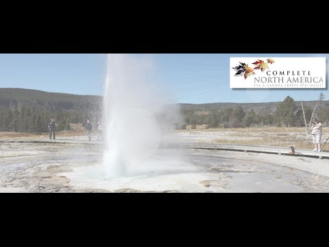 Geysers at Yellowstone National Park | Book-It List | Complete North America