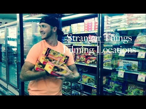 STRANGER THINGS - Filming Locations