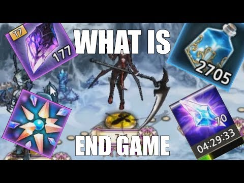"""King's Raid - What is """"End Game""""?"""