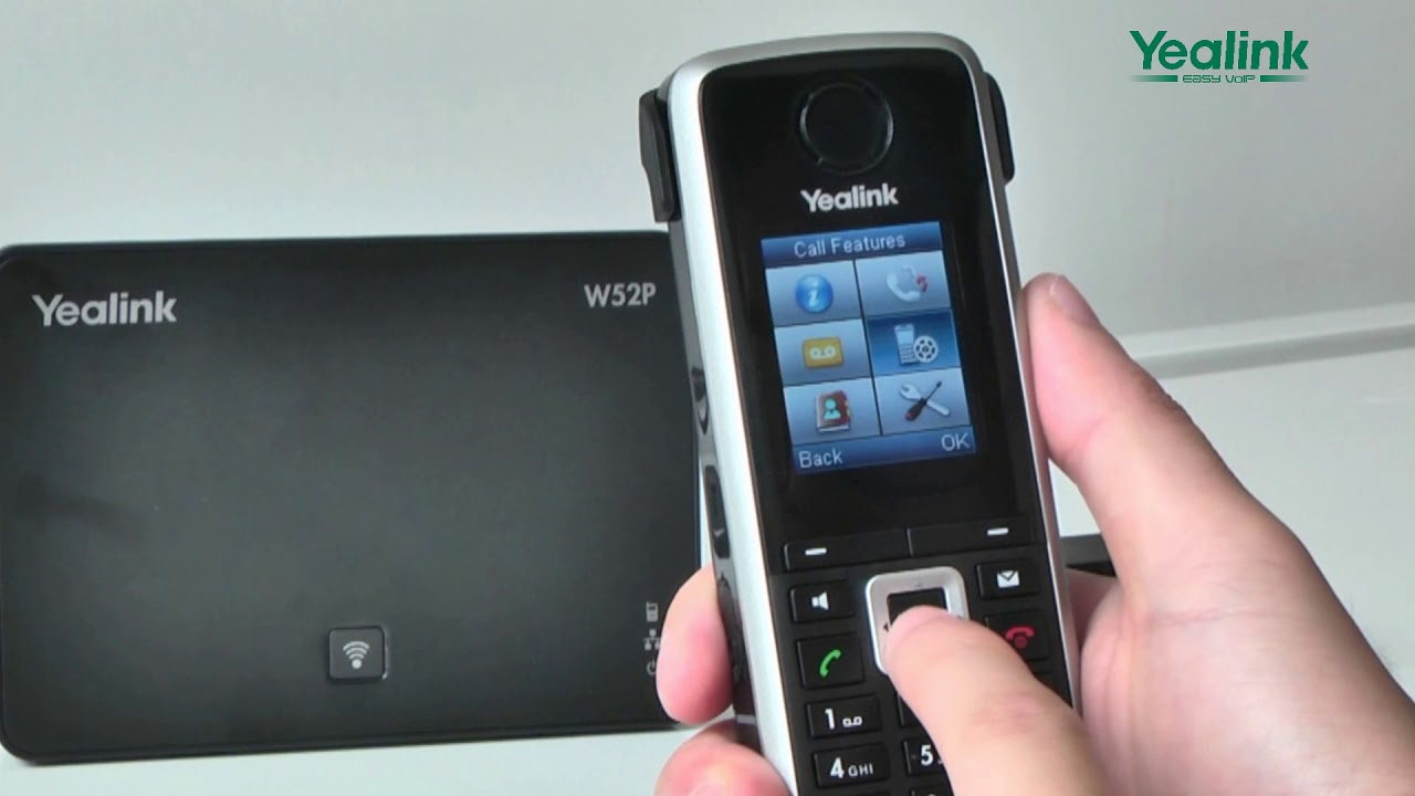 W52P DECT IP Phone - Call Forwarding