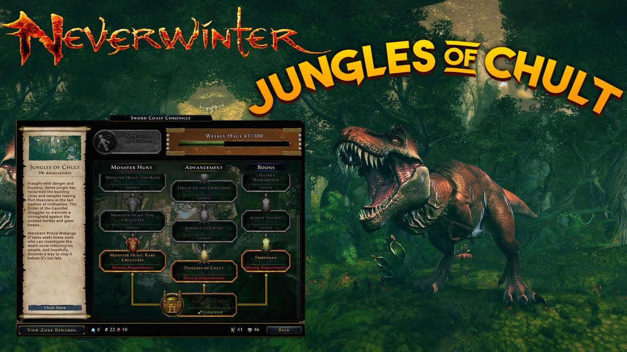 Neverwinter News | The Jungles Of Chult - A New Type Of Campaign (Mod 12)