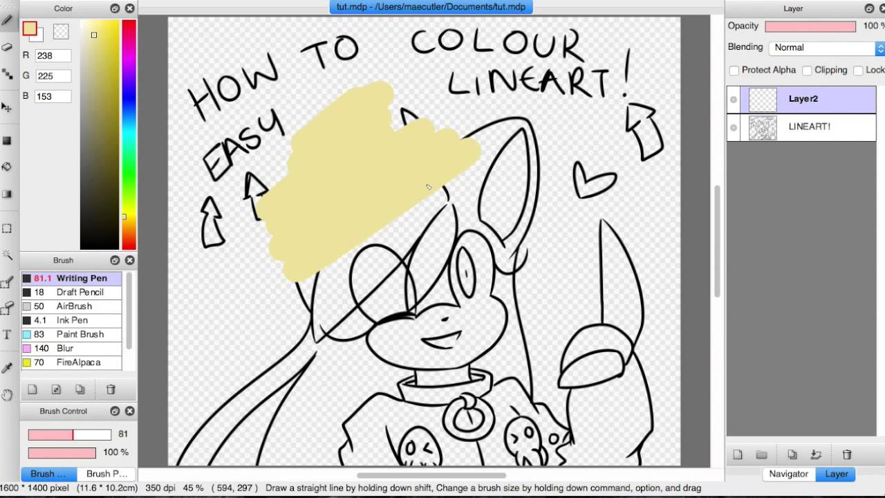 how to make your lines connect on fire alpaca