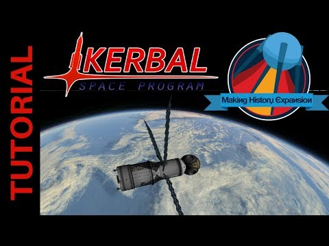 Building the Mir Space Station - Launch of the Base Block: Kerbal Space Program Making History