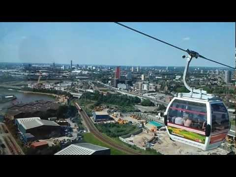 London Cable Car journey