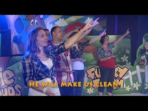 He Will Make Us Clean - Sign Language Action Song By Doug Horley