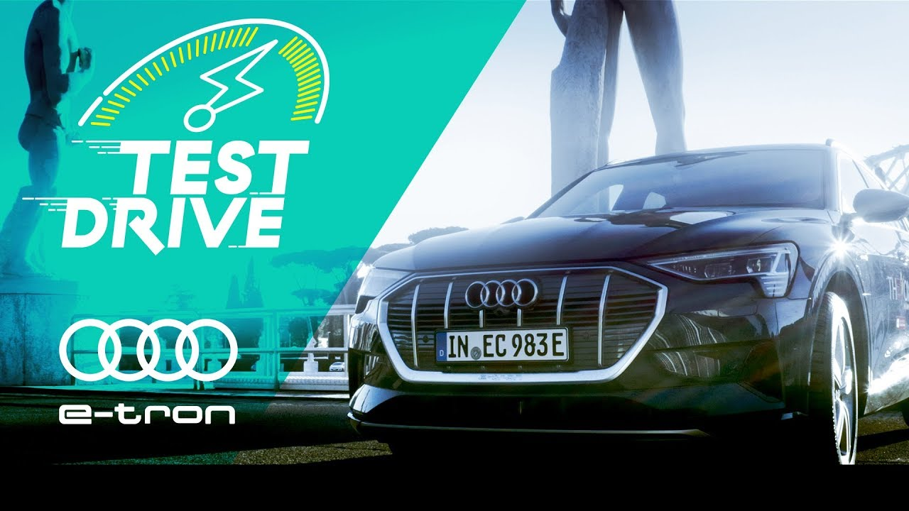 E-TRON, Audi's first ever all-electric SUV || Test Drive