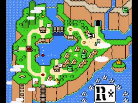 Super Mario World - Donut Plains / Map 2 [arrangement by R-Unit]