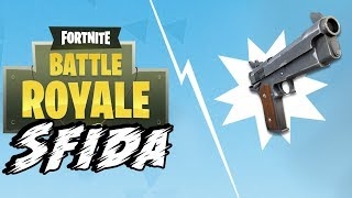 ONLY GUN TO PENDENTS! ROYAL VICTORY! ⛏️ Fortnite Battle Royale Challenge - Crazy