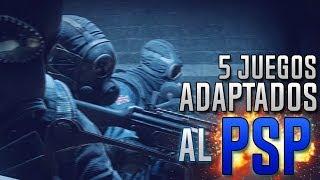 TOP 5 | Juegos adaptados al PSP | Parte 2 | HD | luigi2498