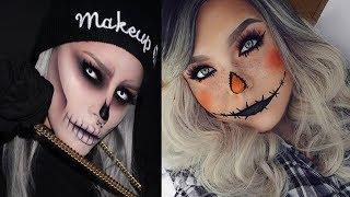 Os Melhores Tutoriais de Maquiagem para o Halloween / CHEIAS DE CHARME TUTORIAIS👻💀