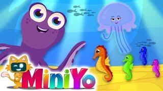 Ahtapot   Denizatı   Denizanası - Yeni Çocuk Şarkıları