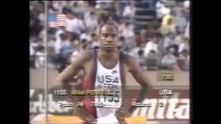 MIKE POWELL, TOKYO'91 (7.85, 8.54, 8.29, X, 8.95, X)