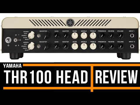 Yamaha THR100HD Amplifier and Cab | Review