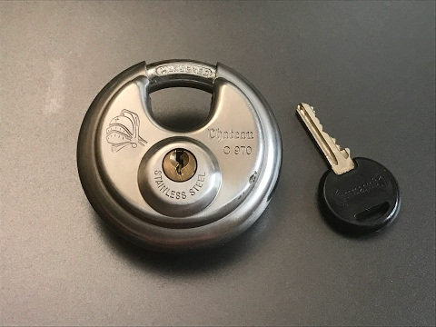 [378] Chateau C970 Disc Padlock Picked