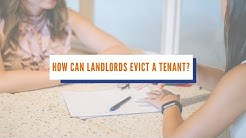 How Can Landlords Evict a Tenant in Arizona?