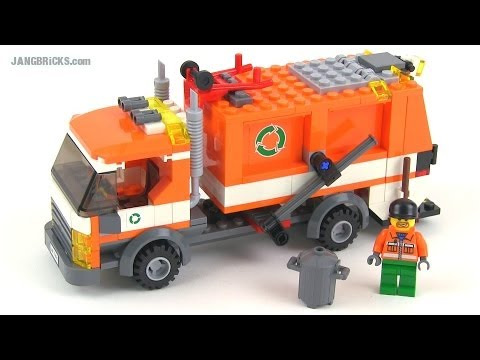 Download LEGO City 7991 Recycle Truck (2007) reviewed!