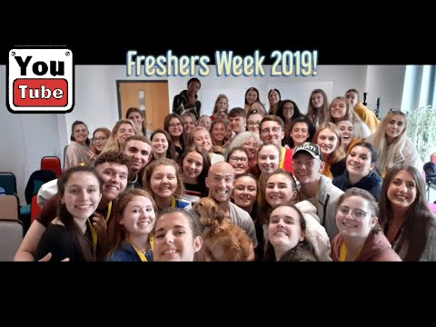 My Fresher's Week At The University Of Chichester 2019