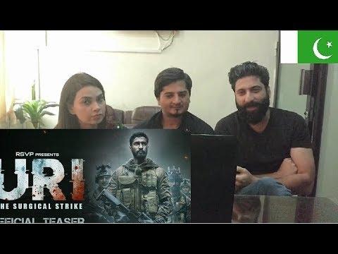 Pakistani Reaction on URI Official Trailer   Vicky Kaushal Yami Gautaml Ab bus Reaction