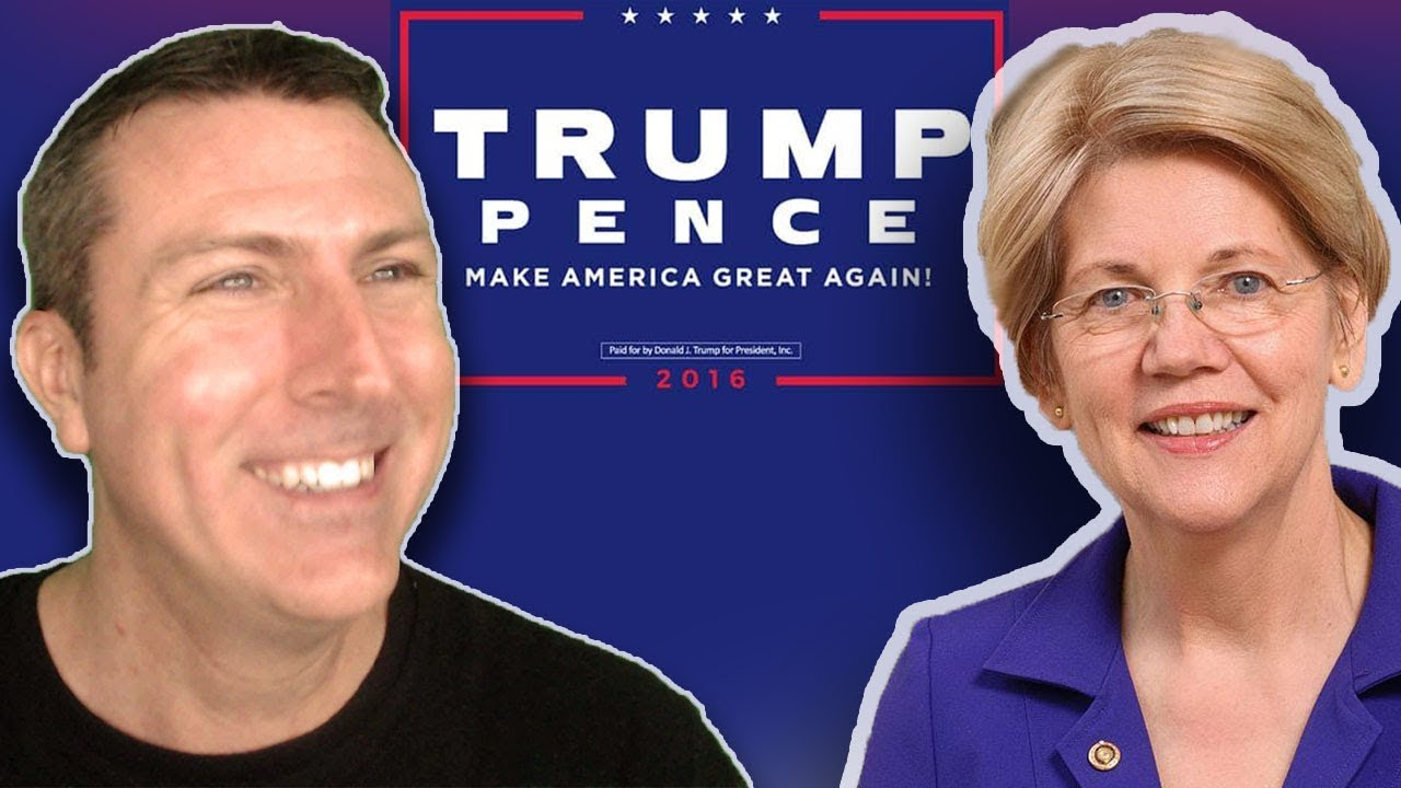Mark Dice Elizabeth Warren Gets a Big Surprise at the Airport