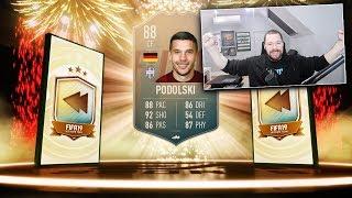 88 RATED FLASHBACK PODOLSKI! - FIFA 19 Ultimate Team