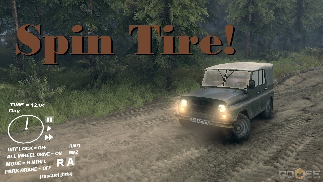 Car Simulator Games >> Spin Tire :: 4X4 Truck Simulator :: PC Game :: Kickstarter ...