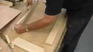 David Termini Makes A Custom Cherry Wood Cabinet Part A