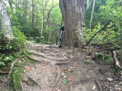 Coulson's Hill Mountain Biking Trail Ontario