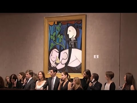 Pablo Picasso – Nude, Green Leaves and Bust | 2010 World Auction Record