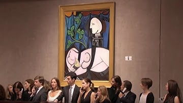 Pablo Picasso's'Nude, Green Leaves and Bust' | 2010 World Auction Record | Christie's