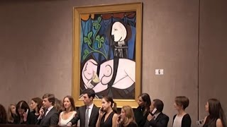 Watch : Pablo Picasso's'Nude...