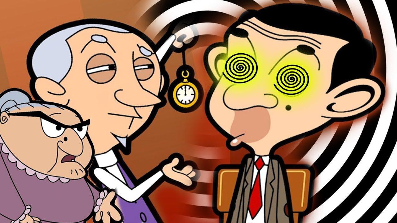 Hypnotised Bean   Funny Episodes   Mr Bean Cartoon World
