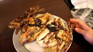 Сегодня моя крабовая диета для красоты, выбираем морепродукты. Дары моря, крабы.