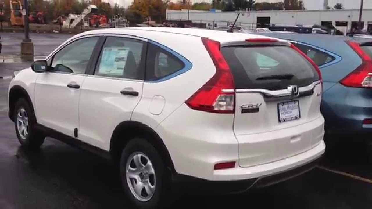 2015 Honda CRV LX  YouTube
