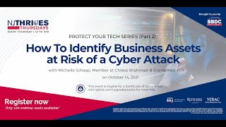 NJTT #023: How To Identify Business Assets at Risk of a Cyber Attack