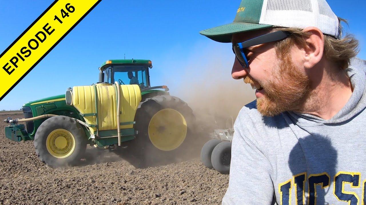 The John Deere Tractors are Fertilizing our Last Fields!