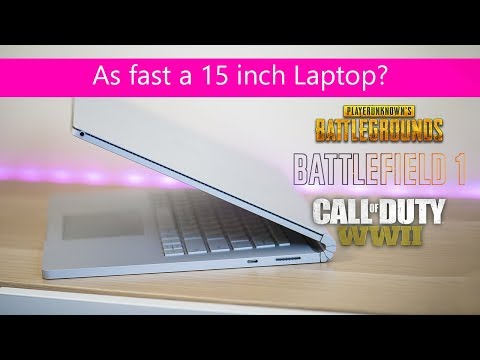 Surface Book 2 Gaming REVIEW - This Thing Can Game - Do You Even PUBG Bro