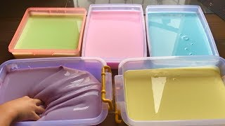 DIY GIANT 7 KILO RAINBOW JIGGLY SLIME How To Make Glossy Jiggly Slime