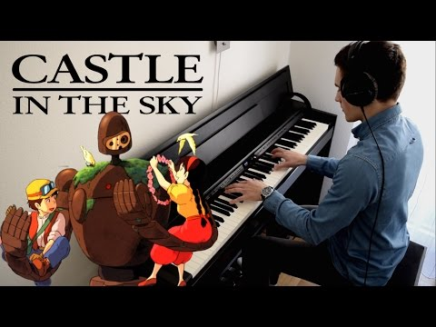CASTLE IN THE SKY -  Main Theme (Piano Cover)