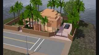 maison moderne sims 3