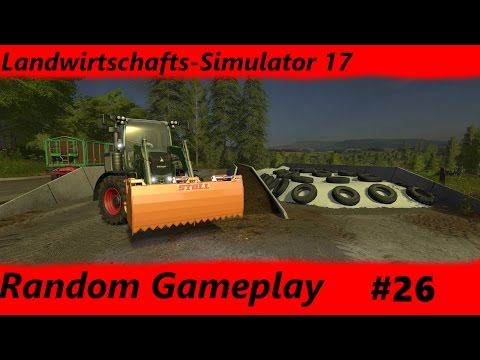 Random Gameplay LS17 #26 Futter für das Liebe Vieh