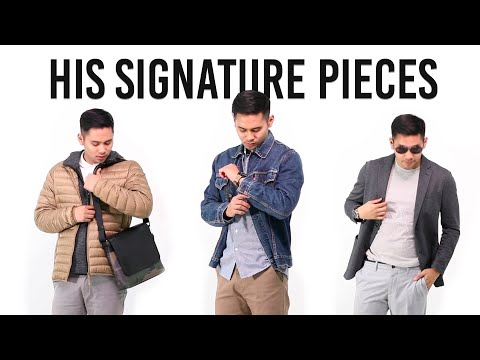 His Signature Pieces