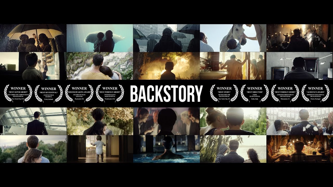BACKSTORY - A Man's Life from Birth to Death, with Joy and Tragedy, Shot from Behind