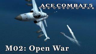 Ace Combat 5 (Emulated) - M02: Open War