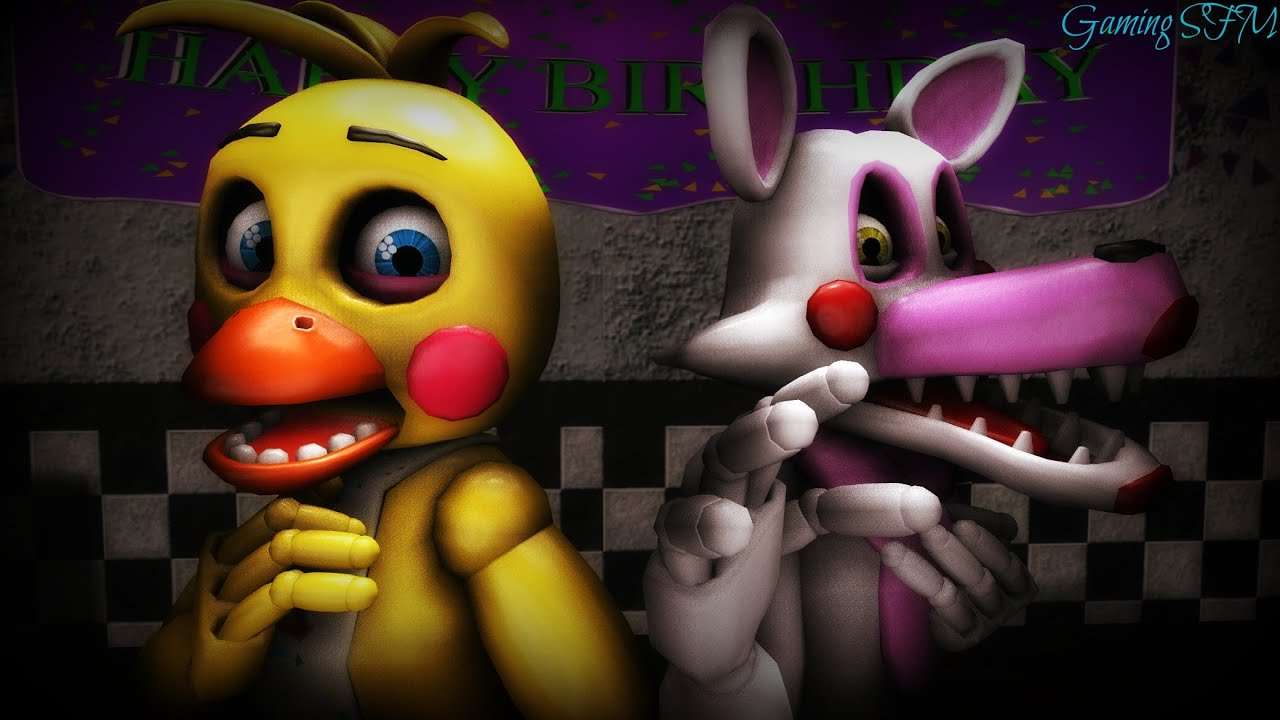 Sfm Making A Picture Of Mangle And Toy Chica - Youtube-6926