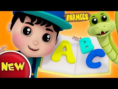 Phonics Songs  ABC Song  Alphabets For Kids  Nursery Rhyme  Ba Songs  Farmees S02E179