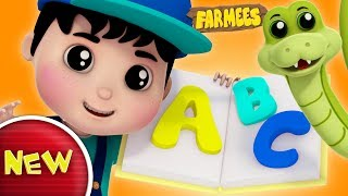 Phonics Songs | ABC Song | Alphabets For Kids | Nursery Rhyme | Baby Songs by Farmees