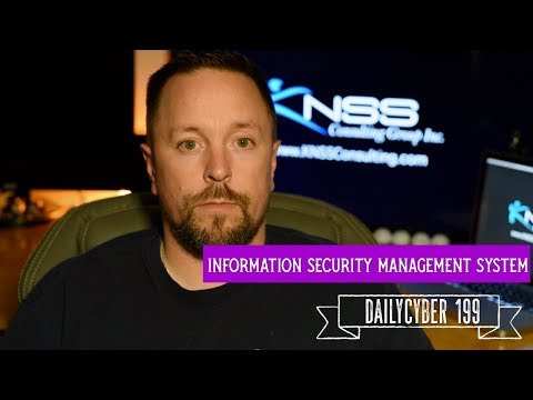 Information Security Management System -ISMS   DailyCyber 199