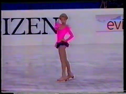 Nadezhda Kanaeva RUS - 1996 World Junior Championship SP