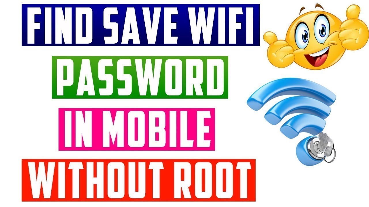 How To View Saved Wifi Password On Mobile Without Root ...