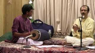 Palinchu Kamakshi with Thani Avarthanam  -- Madhyamavathi